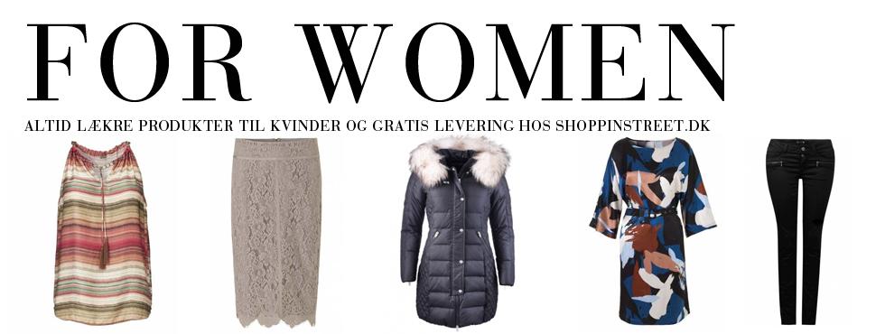 Kvinder modetøj - ShoppinStreet.dk - Gilleleje Shopping
